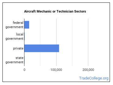 Aircraft Mechanic or Technician Sectors