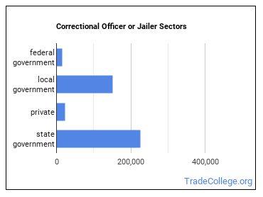 Correctional Officer or Jailer Sectors