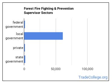 Forest Fire Fighting & Prevention Supervisor Sectors