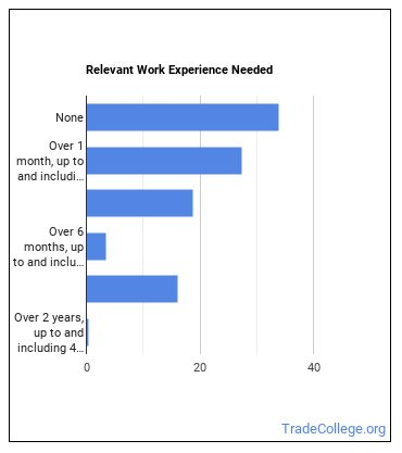 Manicurist or Pedicurist Work Experience