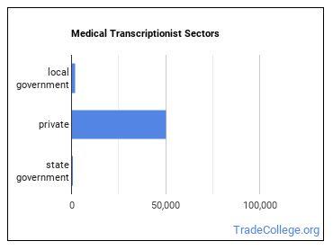 Medical Transcriptionist Sectors
