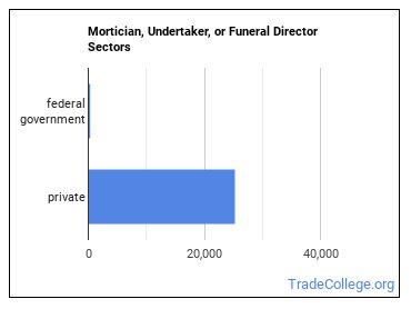 Mortician, Undertaker, or Funeral Director Sectors