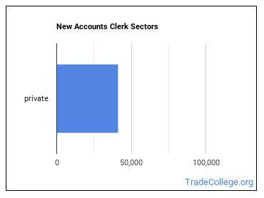 New Accounts Clerk Sectors