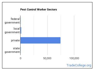 Pest Control Worker Sectors