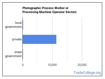 Photographic Process Worker or Processing Machine Operator Sectors