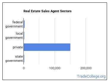Real Estate Sales Agent Sectors