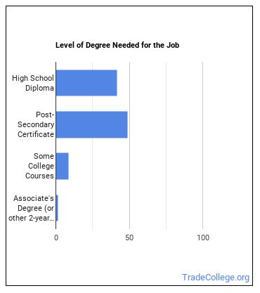 Security & Fire Alarm Systems Installer Degree Level
