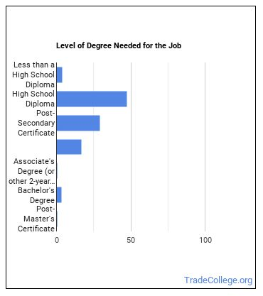 Structural Metal Fabricator or Fitter Degree Level