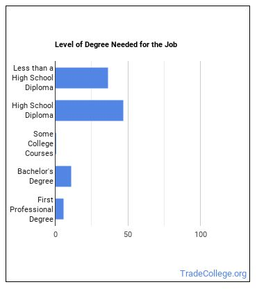 Textile Bleaching or Dyeing Machine Operator Degree Level