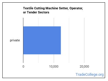 Textile Cutting Machine Setter, Operator, or Tender Sectors