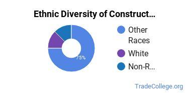 Construction Trades Majors in AK Ethnic Diversity Statistics
