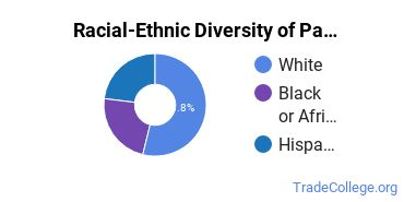 Racial-Ethnic Diversity of Painting/Painter and Wall Coverer Students with Associate's Degrees