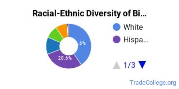 Racial-Ethnic Diversity of Biomedical Engineering Tech Students with Associate's Degrees