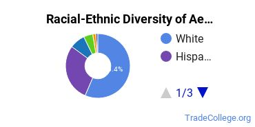 Racial-Ethnic Diversity of Aeronautical/Aerospace Engineering Tech Students with Associate's Degrees
