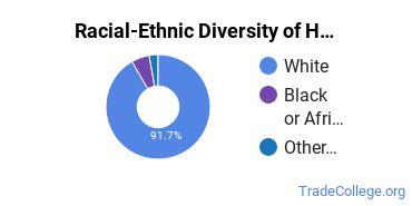 Racial-Ethnic Diversity of Health Aids Students with Associate's Degrees