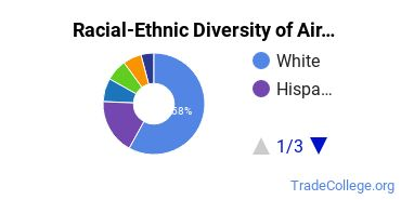 Racial-Ethnic Diversity of Aircraft Powerplant Technology/Technician Students with Associate's Degrees