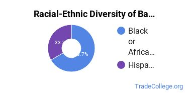 Racial-Ethnic Diversity of Barbering Students with Associate's Degrees