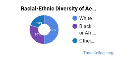 Racial-Ethnic Diversity of Aesthetician/Esthetician Students with Associate's Degrees