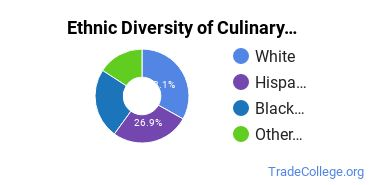 Culinary Arts Majors in CT Ethnic Diversity Statistics