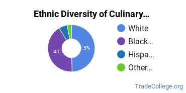 Culinary Arts Majors in TN Ethnic Diversity Statistics