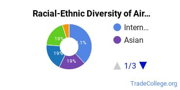 Racial-Ethnic Diversity of Airline Flight Attendant Students with Associate's Degrees