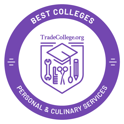 Top Trade Schools in Personal & Culinary Services